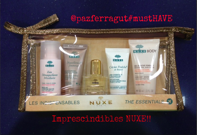 kit imprescindibles nuxe
