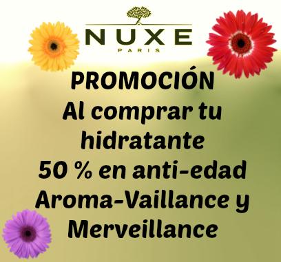 promoción Nuxe