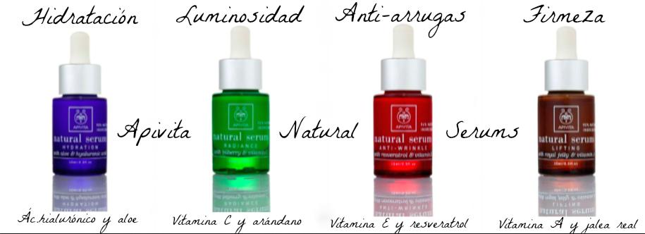 natural serums de apivita