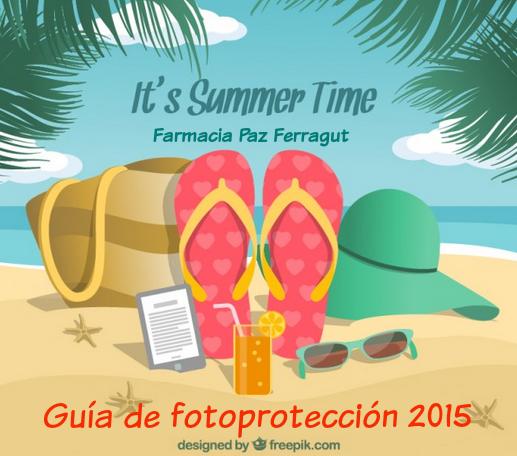 guía de fotoporteciión 2015