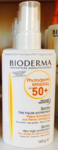 Bioderma fotoprotectorMineral