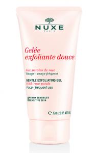 Gel exfoliante suave de rosa Nuxe