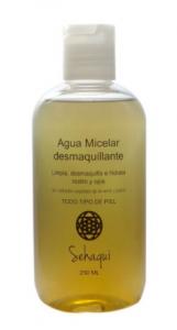 Agua micelar desmaquillante Sehaqui